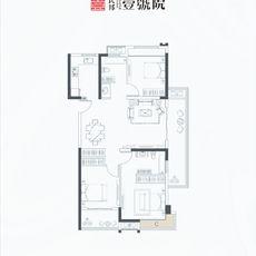 民邦·壹號院J 1号楼户型图