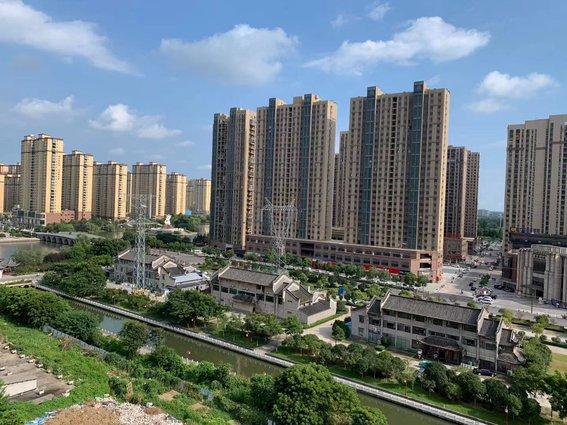 沔阳公馆 南北通透前后没遮挡 洋房好楼层 公摊低 高得房实得120平方