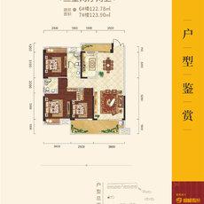 锦绣江山·望府5A-1户型图
