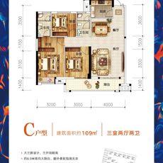漢旺·世紀城央璽C戶型戶型圖