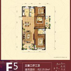 春天桃花源E5户型图