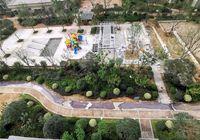 華鴻?公園天下9月工程進度:室外工程鋪裝已完成50%