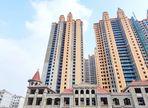 九烨·鼎观世界三期红堡4月进度:10#楼已建至22层