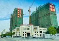 碧水园·锦城10月工程进度:3号楼在建第9层