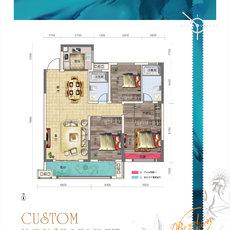 鑫园·未来城B户型户型图