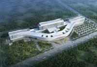 城南医疗配套升级!潜江市人民医院2023年投入使用