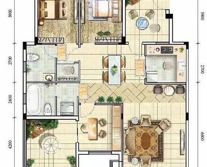 海川·梧桐郡洋房 4#楼建面约134.94㎡