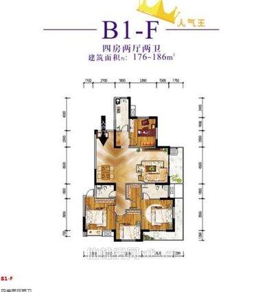 元泰未来城B湖景房3.15层高 观光电梯2梯2户 四阳台设计 城南少有的湖景房 南北通透