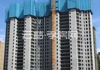 恒凯首府6月工程进度:1、6、9#已封顶,二期在建中