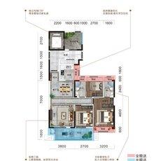 恒凯首府B2户型图