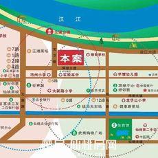 中大学府区位图