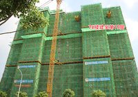 南德荟景湾7月工程进度:6#楼建至第10层
