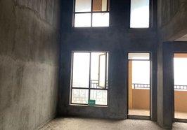 绿地华庭 电梯复式楼  买一层送一层  品质大盘 小区环境空气好  红本在手随时过户