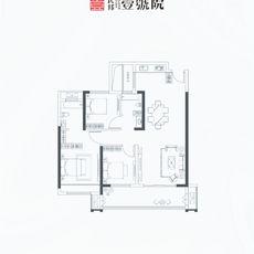 民邦·壹號院H 2号楼户型图