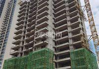 保利香颂9月进度:二期楼栋陆续施工 正在搭建脚手架