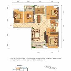 力标馨园3#楼A2户型户型图
