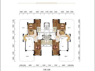 太子湖国际社区C空中别墅型户型图