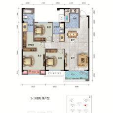 荣怀·及第世家E地块B-1户型图