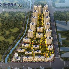 现代·森林国际城|仙北效果图