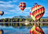 熱氣球來了!恩杰當代上品MOMΛ邀您共賞紫月湖!