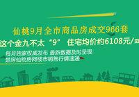 仙桃9月全市商品房成交794套 住宅成交均价5767元/㎡