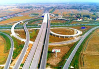 高石碑至棗潛高速積玉口互通公路工程,計劃4月30日完工通車