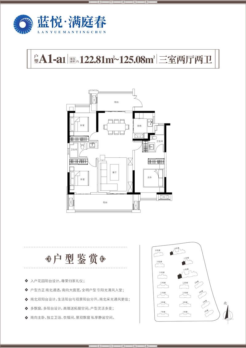 蓝悦·满庭春-A1-a1户型