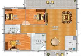 中南世紀雅苑 毛坯三房 南北通透雙陽臺 中間樓層