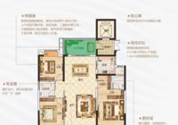以加减乘除 解密这个楼盘建面约126m²户型舒适空间