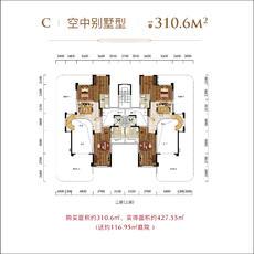 太子湖国际社区--C空中别墅型