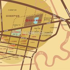 欧亚达·城中央区位图