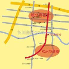 文化世纪城二期地图