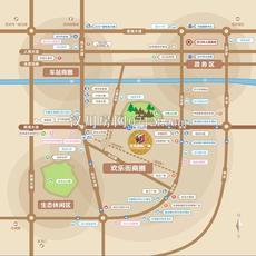 汉海国际广场区位图