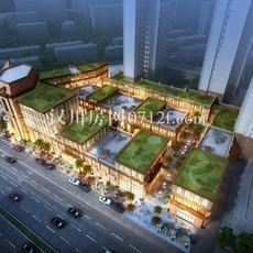 漢川·銀湖天街效果圖