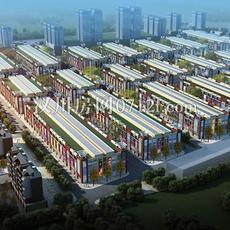 德普施商贸城整体图