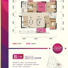 漢川·銀湖天街B戶型戶型圖