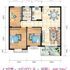 凤凰城C2户型图
