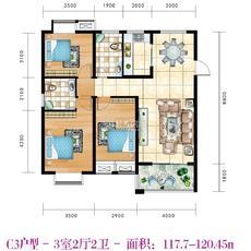 凤凰城C3户型图