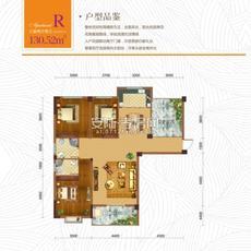 东方世纪城--10、11#楼R户型