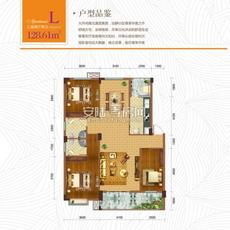 东方世纪城--1#楼L户型