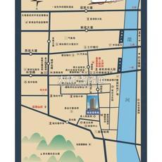 领秀城区位图