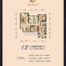 凤凰新城1、2#楼户型图