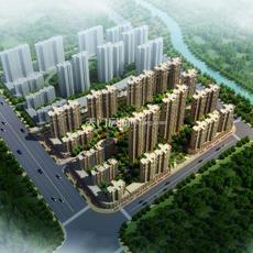 問天智匯東城鳥瞰圖