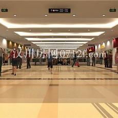 汉海国际广场内部效果图
