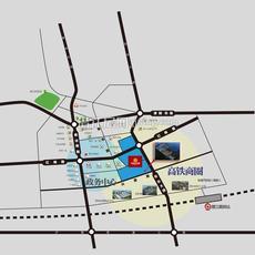 光彩江汉城区位图