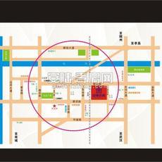 府东名城区位图