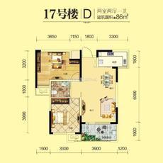 满庭春MOMΛ--17#-D户型