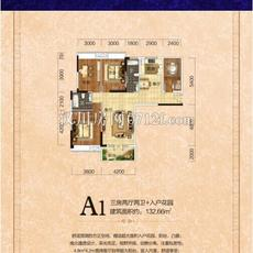 凌峰广场A1户型户型图