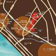 宏峰上上城三期区位图