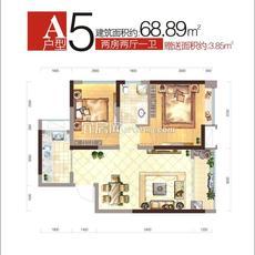 弘洋·拉菲小镇A5户型户型图